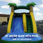 14 foot water slide