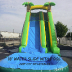 18 foot waterslide